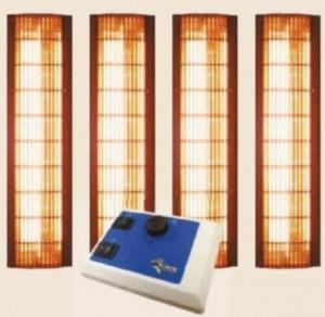 Infrazářiče do sauny