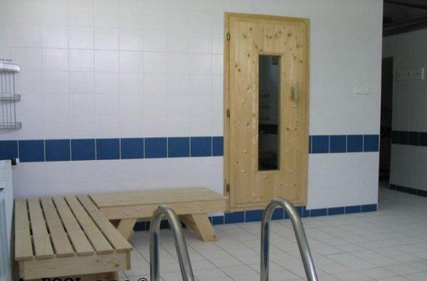 Veřejná vestavěná sauna